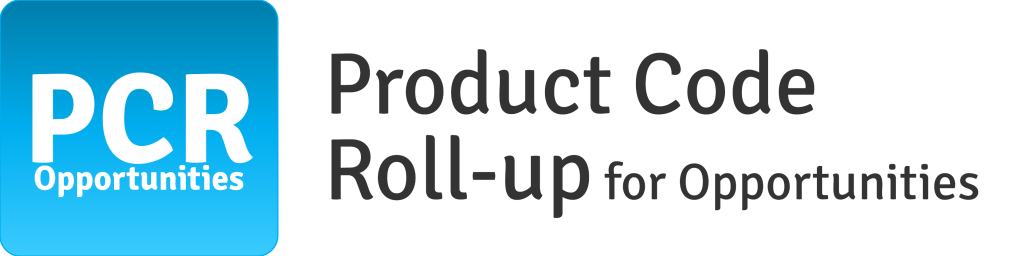 Product Code Roll-up for Opportunities in Salesforce CRM